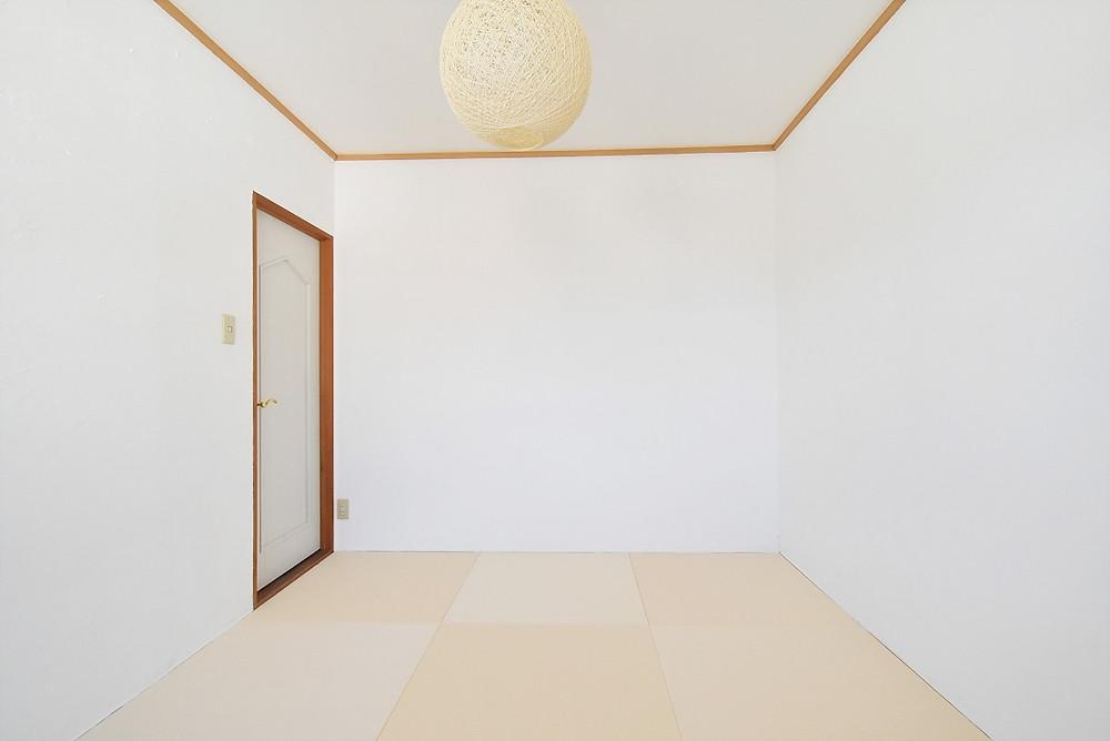 山梨おしゃれ賃貸・グレイスロイヤルでは、おしゃれな琉球畳を敷いた和室部屋が標準装備になっています