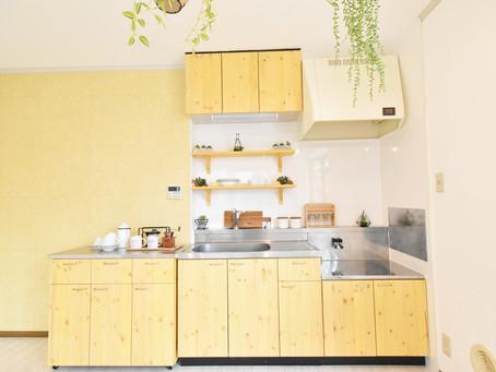 おしゃれなキッチンカウンターがある賃貸生活は、毎日の料理が楽しくなります。