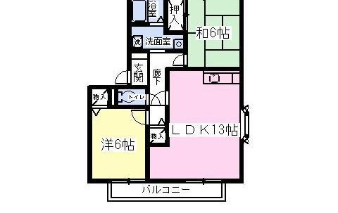 S101 間取り図