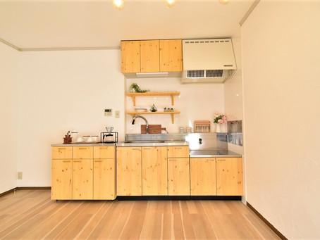 インスタ映えするようなおしゃれなキッチンで新生活をスタートしませんか?