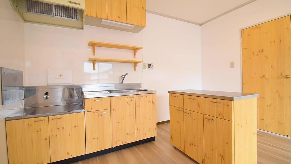 賃貸のLDKを最大限活用することができるキッチン