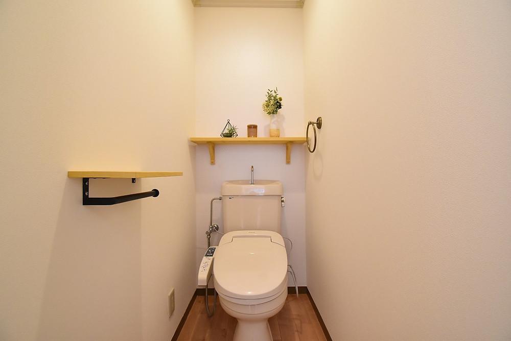 おしゃれでかわいいトイレ