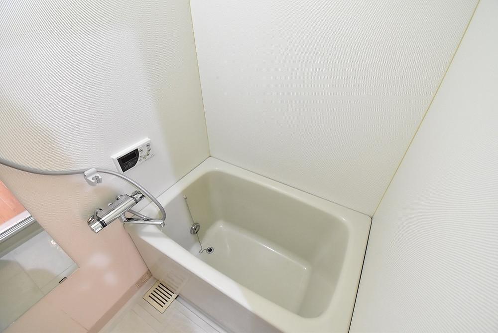 シャワー水栓は新しいものに交換しました。