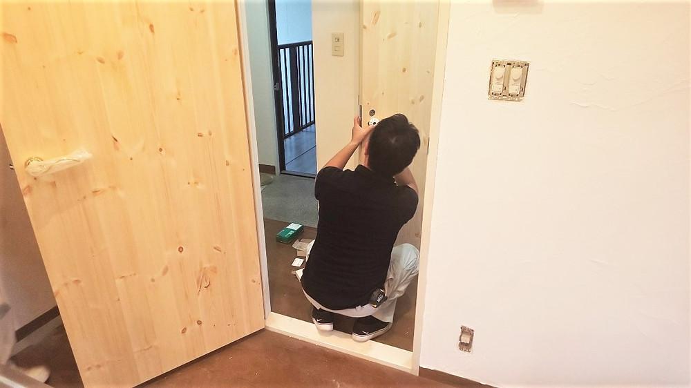 建具を完成させるために、高度な技術が必要です。