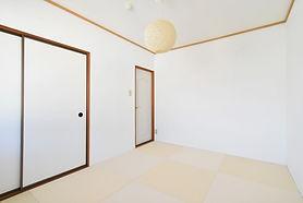 居心地がいいおしゃれな和室部屋が標準装備