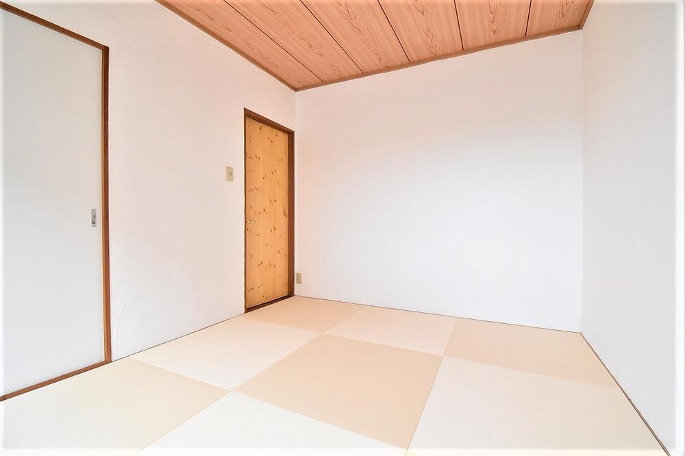 おしゃれな琉球畳を導入しています。