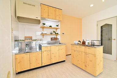 キッチンカウンターL字型