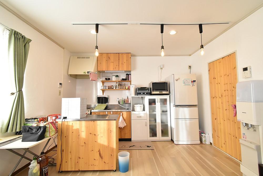 山梨おしゃれ賃貸・グレイスロイヤルのリノベーション部屋にご入居されているお客様の部屋