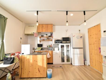 賃貸でおしゃれなキッチンといえば、山梨おしゃれ賃貸・グレイスロイヤル。