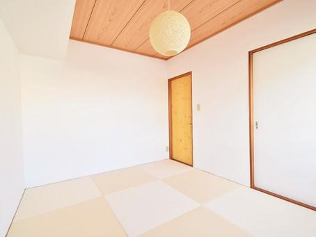 こんなお部屋ほしかった!和モダン空間が魅力的な和室部屋。