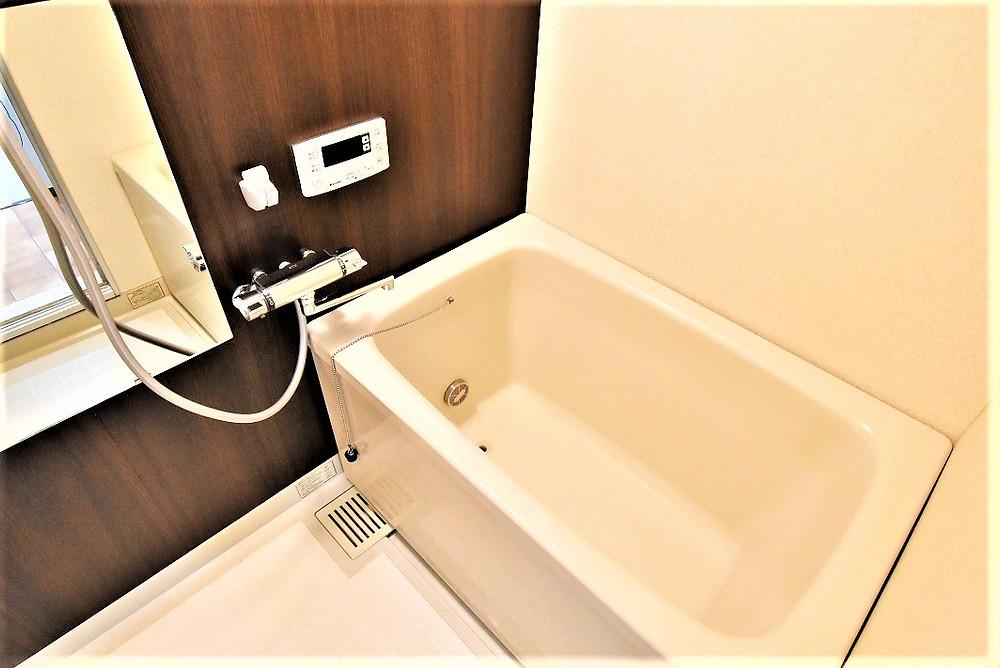 お洒落な浴槽とはこのことをいうのですね!