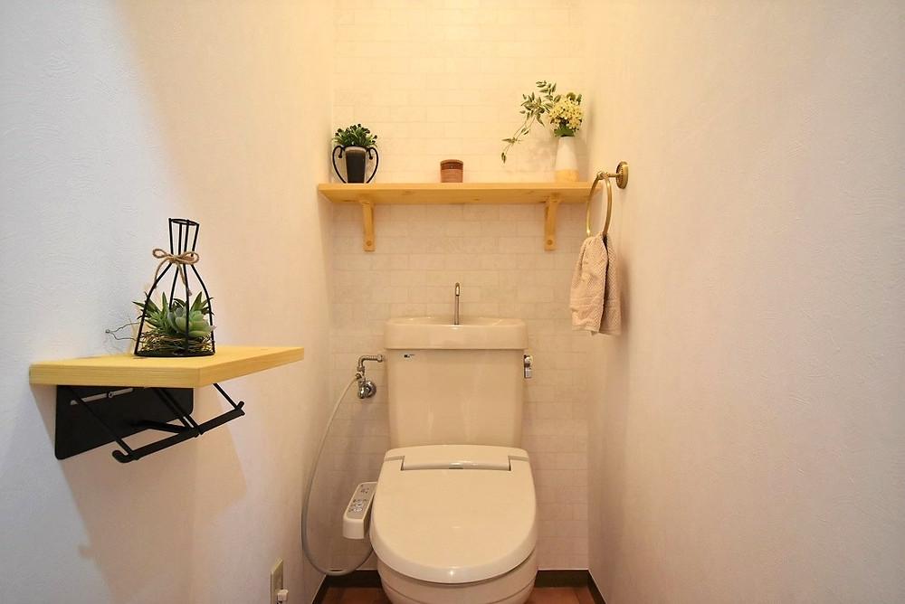 おしゃれなカフェのトイレみたい。グレイスロイヤルのリノベーショントイレ