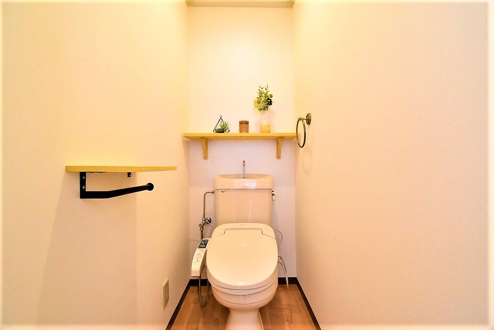 おしゃれなカフェ風トイレ