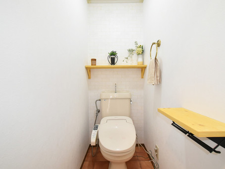 カフェみたいなおしゃれすぎるトイレが標準装備。