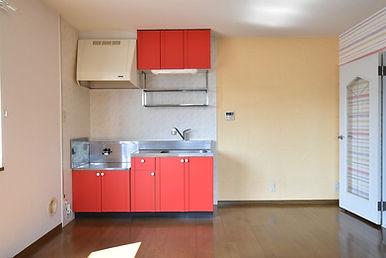 S205号室 リノベーション前キッチン