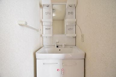 リノベーションする前の洗面台