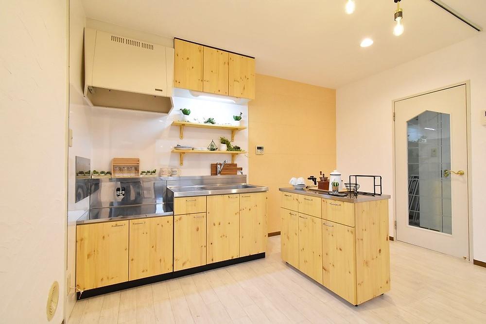 既存のキッチンをリメイクしただけで、価値がものすごく高くなりました