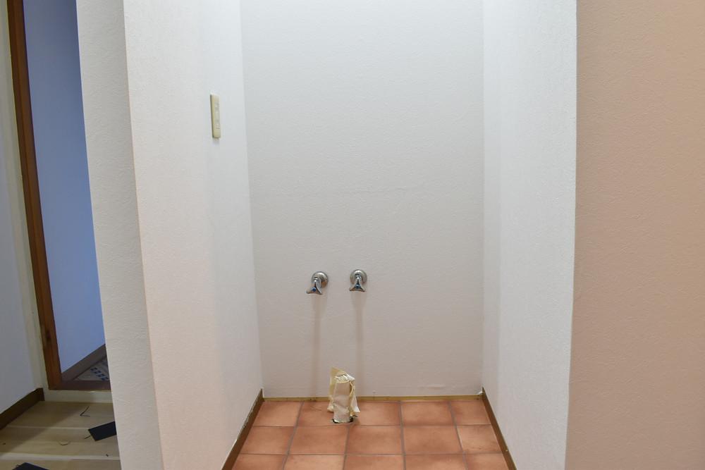 ここに設置する洗面台は、ご見学されたお客様全員が可愛いと言ってくれます。