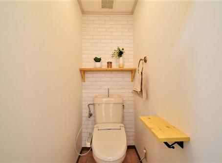 賃貸のトイレをカフェ風に大改造!グレイスロイヤルのリノベ賃貸