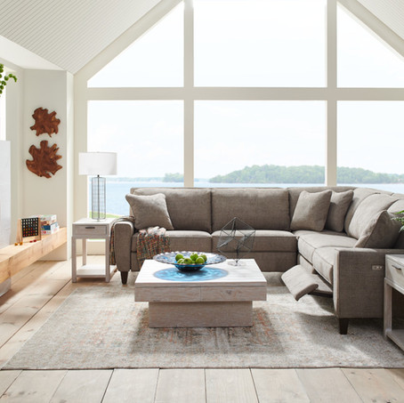 DECORATING WITH A SECTIONAL