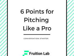 6 Key Points For Pitching Like A Pro