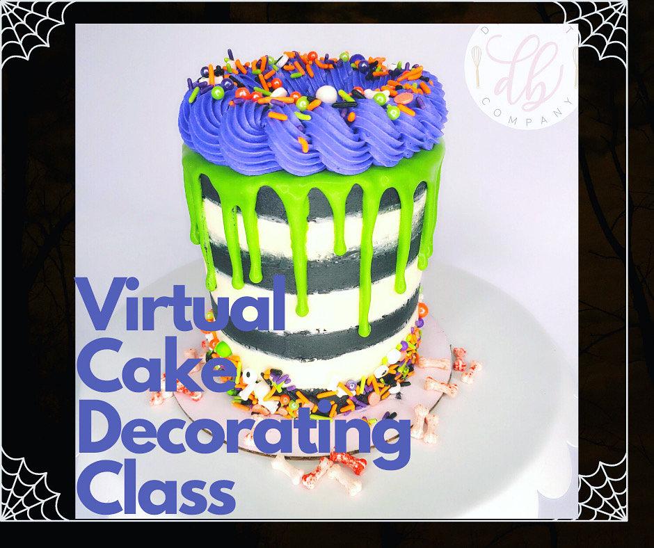 Virtual Spooktacular Cake Decorating
