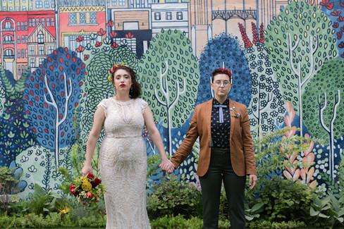 Chicago Outdoor Garden Wedding