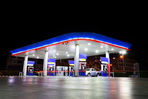 petrol station at night & copy space on top.jpg