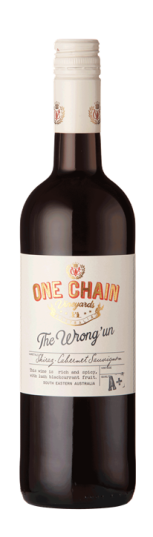 One Chain Vineyards 'The Wrong Un' Shiraz Cabernet Sauvignon