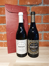 Italy 2-bottle gift set Neropasso & Oropasso