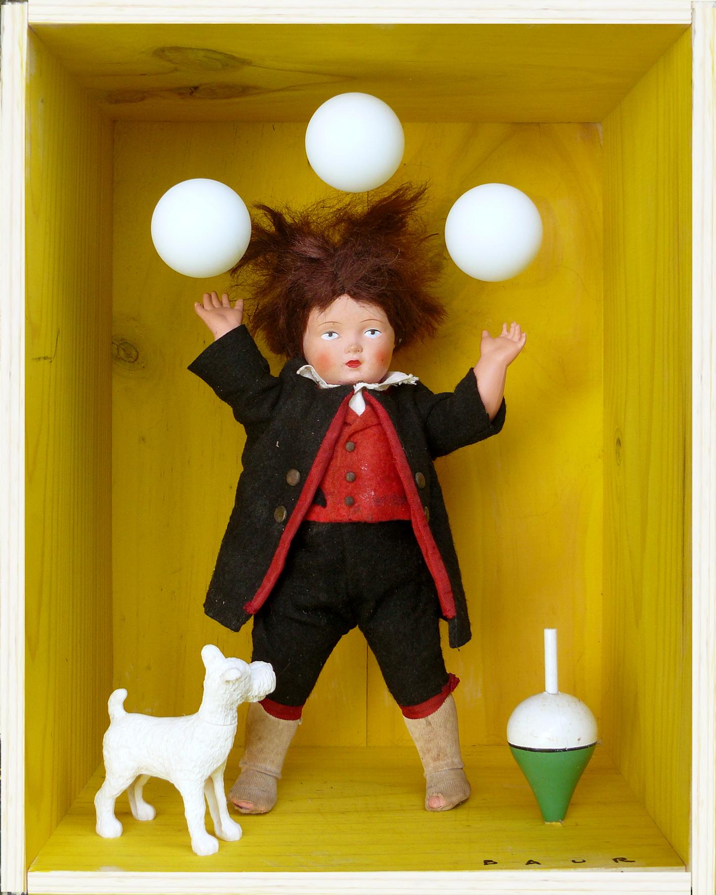 Le jongleur  33x26x18 cm