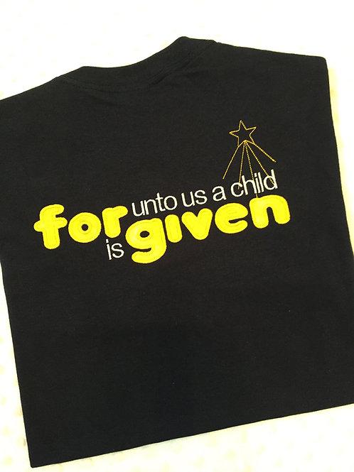 Forgiven Christmas T-shirt