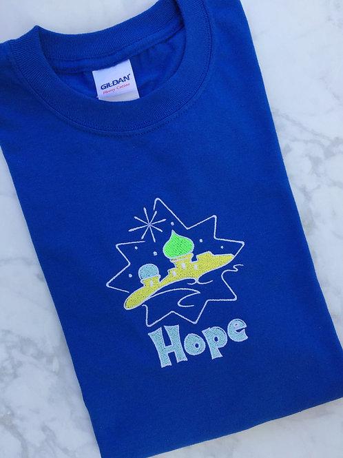 Bethlehem Hope Christmas T-shirt