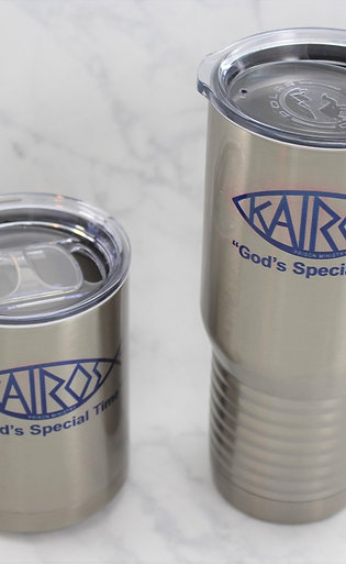 Licensed Kairos Travel Mug