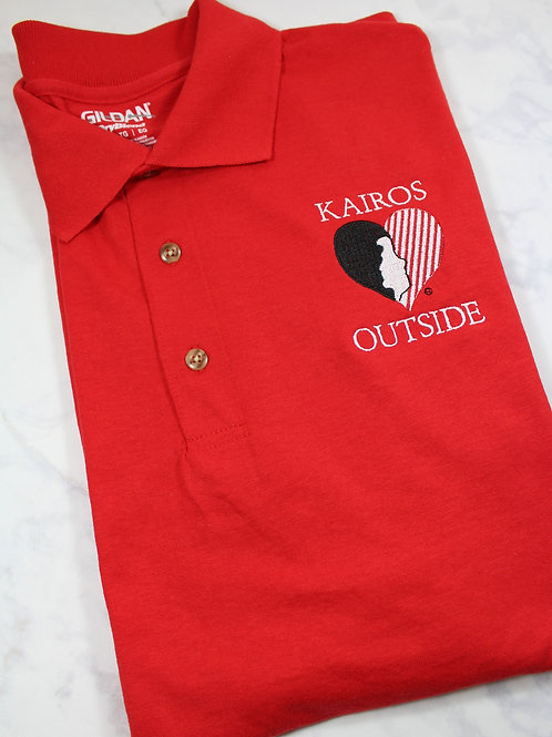 Licensed Kairos Outside Polo Style Logo Shirt