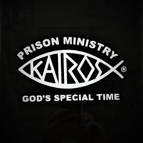 Licensed Kairos Prison Ministry Car Window Decal