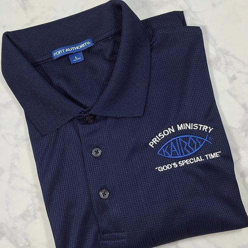 Licensed Men's Kairos Logo polo style shirt