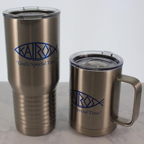 Licensed Kairos Travel Mug