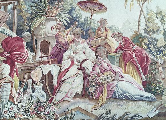 Tapisserie d'aubusson 19ème siècle