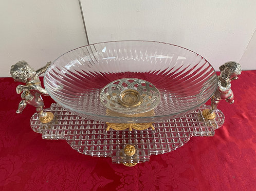Centre de table en cristal baccarat
