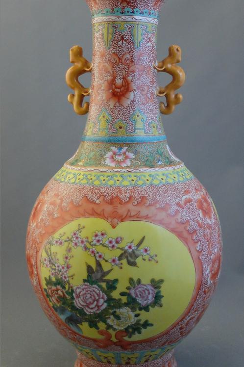 Un vase chinois