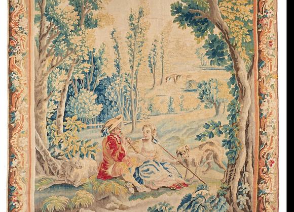 Tapisserie d'aubusson 18ème siècle