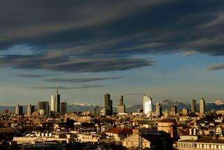 Skyline dalla terrazza del Duomo