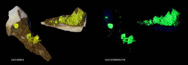 Meta-autunite e uranocircite - Portogallo