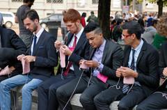 Settimana della moda, Piazza della Scala