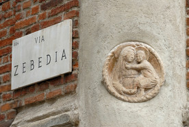Via Zebedia angolo Piazza Missori