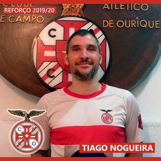 TIAGO NOGUEIRA É REFORÇO!