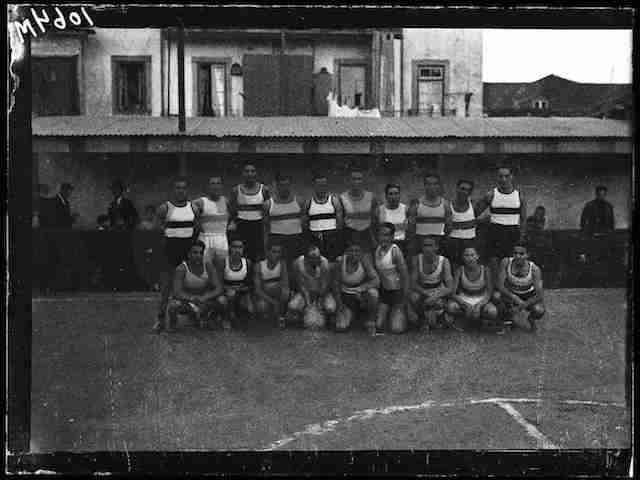 1938 (5 Abril) - Basquetebol