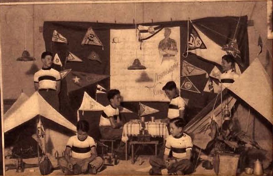 1944 (abril) - Campismo