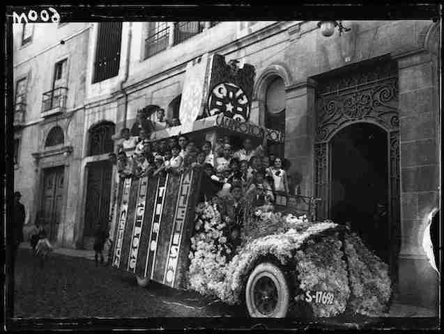 1938 (26 Fevereiro) - O carro do C.A.C.O.